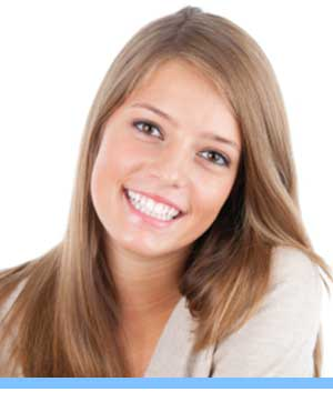 Accelerated Treatment interior photo young woman San Marcos Orthodontics San Marcos CA